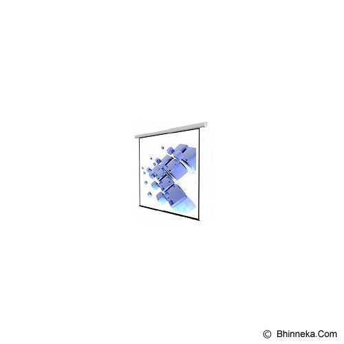 SCREENVIEW Motorized Wall Screen [1717RL] - Proyektor Screen Motorize